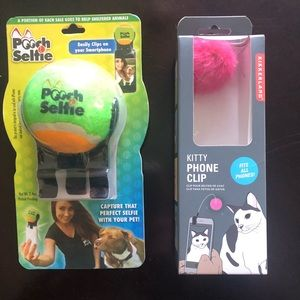 Other - Pooch selfie & Kitty phone clip